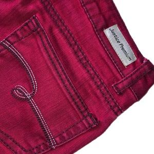Justice Bottoms - Justice Premium Red Jeans
